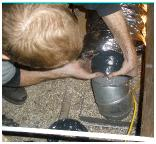 Heat Duct Repair